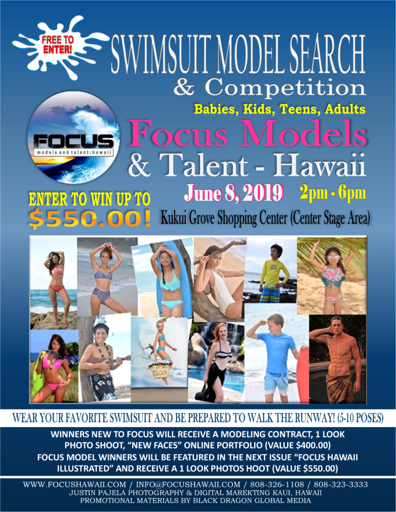 Focus Hawaii | UP COMING EVENTS, AUDITIONS & JOB PAGE